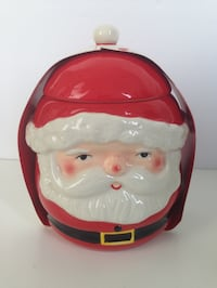 BRAND NEW! SANTA CLAUS Holiday Cookie Jar Decor from Indigo/Chapters