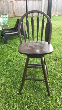 black and brown wooden windsor chair Burnaby, V3N 1L6
