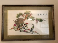 Japanese Inspired Hand Embroidered Pictures Edmonton, T5T 3X8