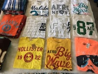 Aero/Hollister Shirts $4 each or $100 for all 50pc