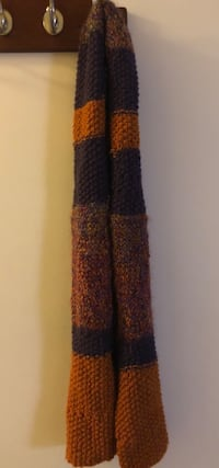 Hand Knitted Scarf 366 mi