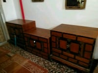 brown wooden dresser with mirror Panama City, 32404