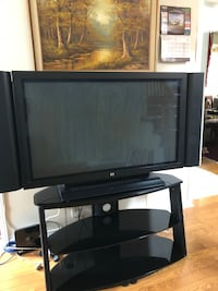 Black samsung flat screen tv Cambridge, N1T 1M1