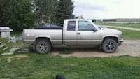 Gold extra cab pickup truck parts only Edmonton, T5C 2L6