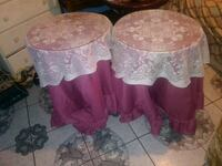 two pink and white floral table Atwater, 95301