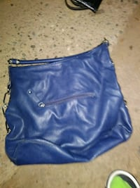 women's blue leather hobo bag Citrus Heights, 95610