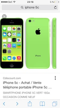 green iphone 5c Gatineau, J9H 6W2