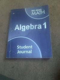 Algebra study booklet 353 pages Irvington, 07111