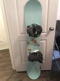 K2 Graffiti Snowboard Mint Green Oakville, L6H 0K1