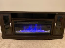 "Electric Fireplace/70"" stand"