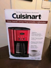 NEW & beautiful cuisinart 12 cup coffee maker New Westminster, V3L 3E3