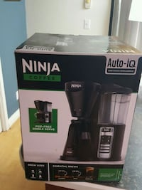 Ninja auto iq coffee maker brand new New Westminster, V3M
