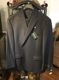 Navy and gray pinstriped suit jacket Alexandria, 22303