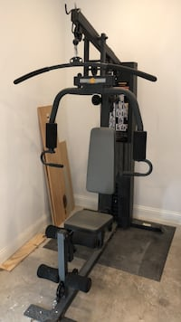 Powerhouse home gym weight bench