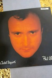 "Phil Collins ""No Jacket Required"" vinyl album La Plata, 20646"