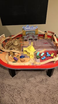 Disney Cars McQueen train playtable  West Bloomfield, 48322