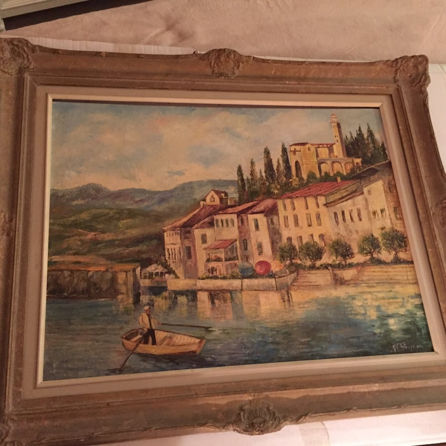 oil painting rare artist
