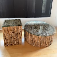 Arhaus Coffee and Side Accent Tables (willing to sell separately too) Washington, 20001