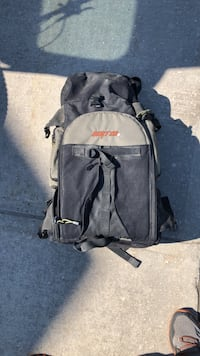 Burton back country board pack and camera bag