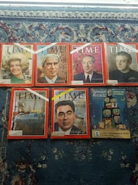 Early 60's magazines