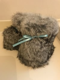 Baby boot - Sz 4-5 - rabbit fur