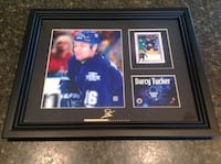 "NHL Collectible Darcy Tucker Picture by ""bigLeaguemarketing""."