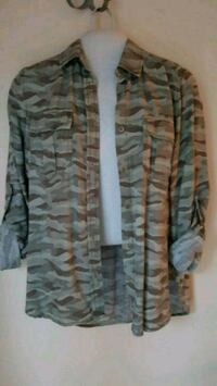 Blouse army small American eagle  Montreal