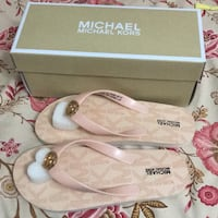Chanclas michaek kors rosas Madrid, 28033