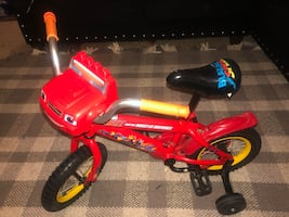 Children's Blaze Bicycle with training wheels