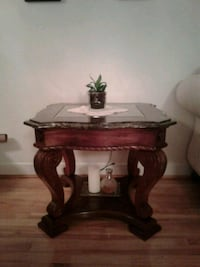 Set of coffee table and side table