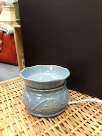 Glade Elecric Wax Melt Warmer Blue Pottery