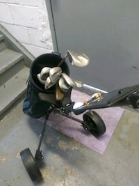 Golf bag, tools, and carrier