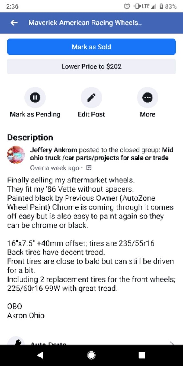 Used and new tire in Akron - letgo