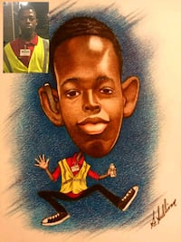 Hand drawn caricatures Chicago, 60640
