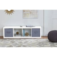 Better Homes and Gardens  4-Cube Organizer, White Lacquer, SKU # 41-250 Santa Fe Springs