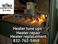 Heater repair or replacement  Houston, 77076