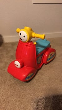 toddler's red and blue ride-on toy Leander, 78641