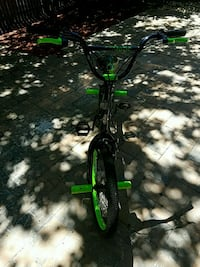 green and black hardtail mountain bike Alexandria, 22312