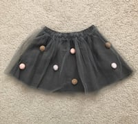 Zara toddler girls pom pom tulle skirt Mississauga, L5M 0H2