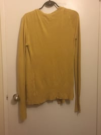 women's yellow long-sleeved shirt Toronto, M6S 1M8