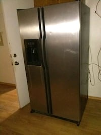 gray side by side refrigerator with dispenser Tucson, 85730