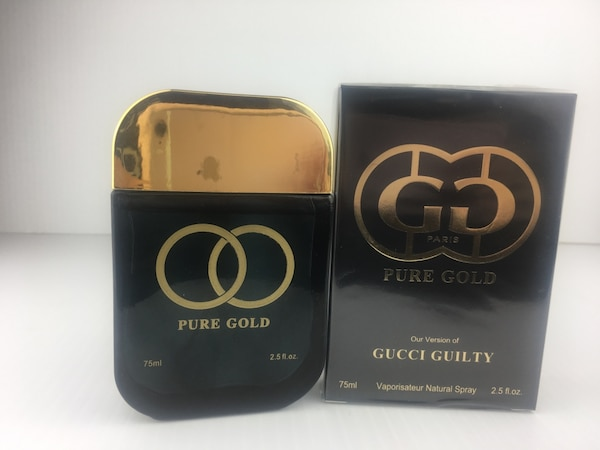 9cfbff94f 75 ml Gucci pure gold perfume bottle with box usado en venta en ...