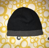 Black and grey fleece knit Toque Toronto, M6N 5H8