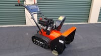 Big Americana 2 stage Snow Blower with Tank Treads electric start Fort Collins