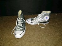 pair of white Converse All Star high-top sneakers Milwaukie, 97222