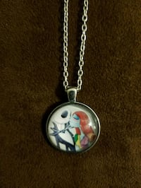 NIGHTMARE BEFORE CHRISTMAS NECKLACE WITH PENDANT  Alameda, 94501
