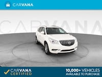 2014 Buick Enclave suv Leather Sport Utility 4D White