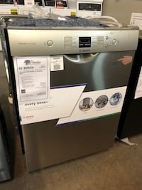 TAKE HOME FOR $40 DOWN! Bosch Dishwasher Built In Stainless Steel #2725