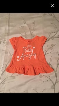 "NWOT Girl's 0-3 Month ""I'm Pretty Amazing"" Shirt Calgary"