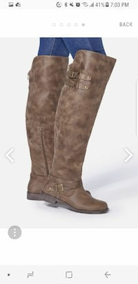 Ladies womens boots size 7.5
